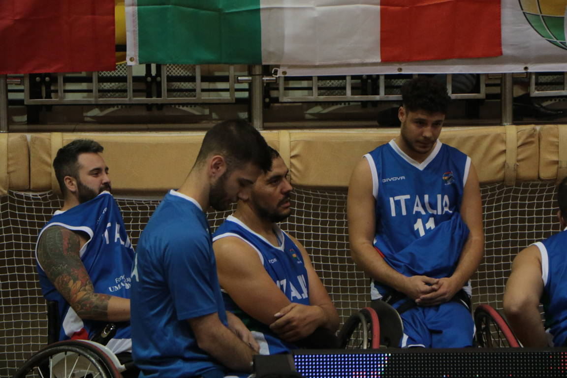 Basket in carrozzina IWBF Europe Championship 2019: amarezza ItalFipic che perde vs la Turchia