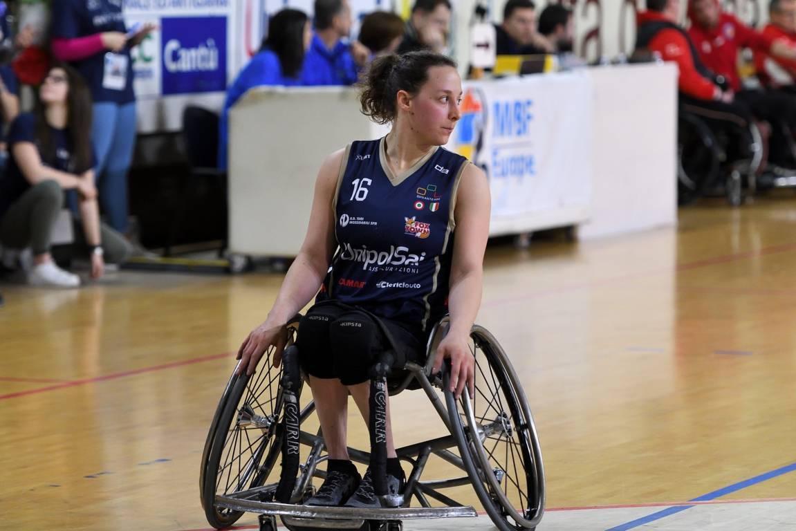 Basket in carrozzina Mercato 2019-20: quarto anno alla Briantea84 il prossimo di Laura Morato