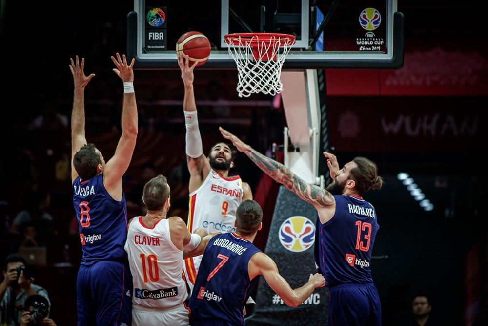 FIBA World Cup 2019: la Spagna fa lo sgambetto ai marziani della Serbia per 81-69 e chiude al primo posto nel Girone J