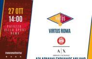 Legabasket LBA 6^giornata 2019-20: torna la sfida tra le metropoli, ecco al PalaEUR Virtus Roma vs Olimpia Milano