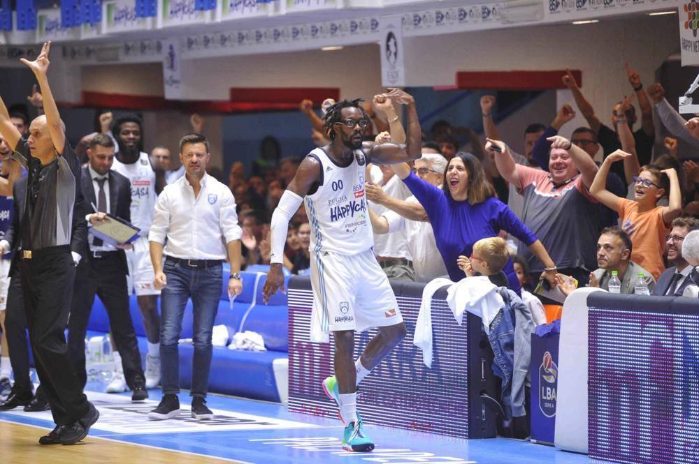 Legabasket LBA 5^giornata 2019-20: fuochi d'artificio a Brindisi la spunta la Happy Casa per 108-99 vs Pesaro