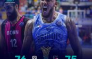 FIBA Basketball Champions League #Round2 2019-20: è super Happy Casa Brindisi con super Banks che batte Bonn 76-75