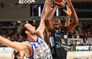 Legabasket LBA 3^giornata 2019-20: La Dinamo Sassari espugna il campo della Dolomiti Energia Trentino a due decimi dalla fine
