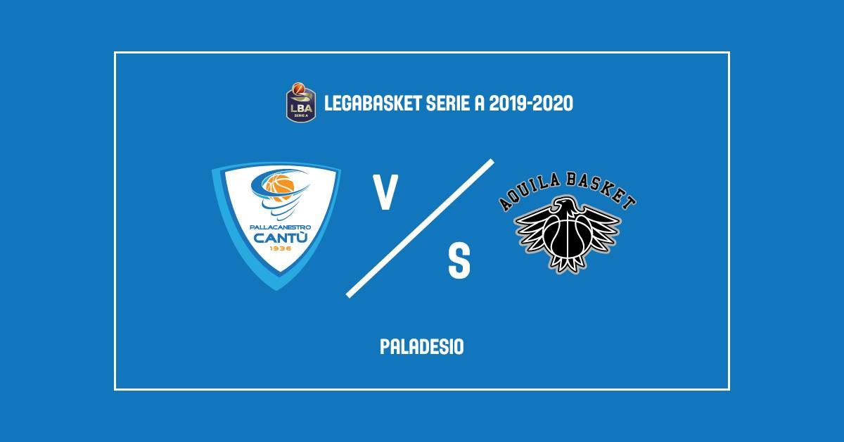 Legabasket LBA 5^giornata 2019-20: l'Acqua San Bernardo deve reagire dopo Venezia, ecco che arriva Trento a Desio