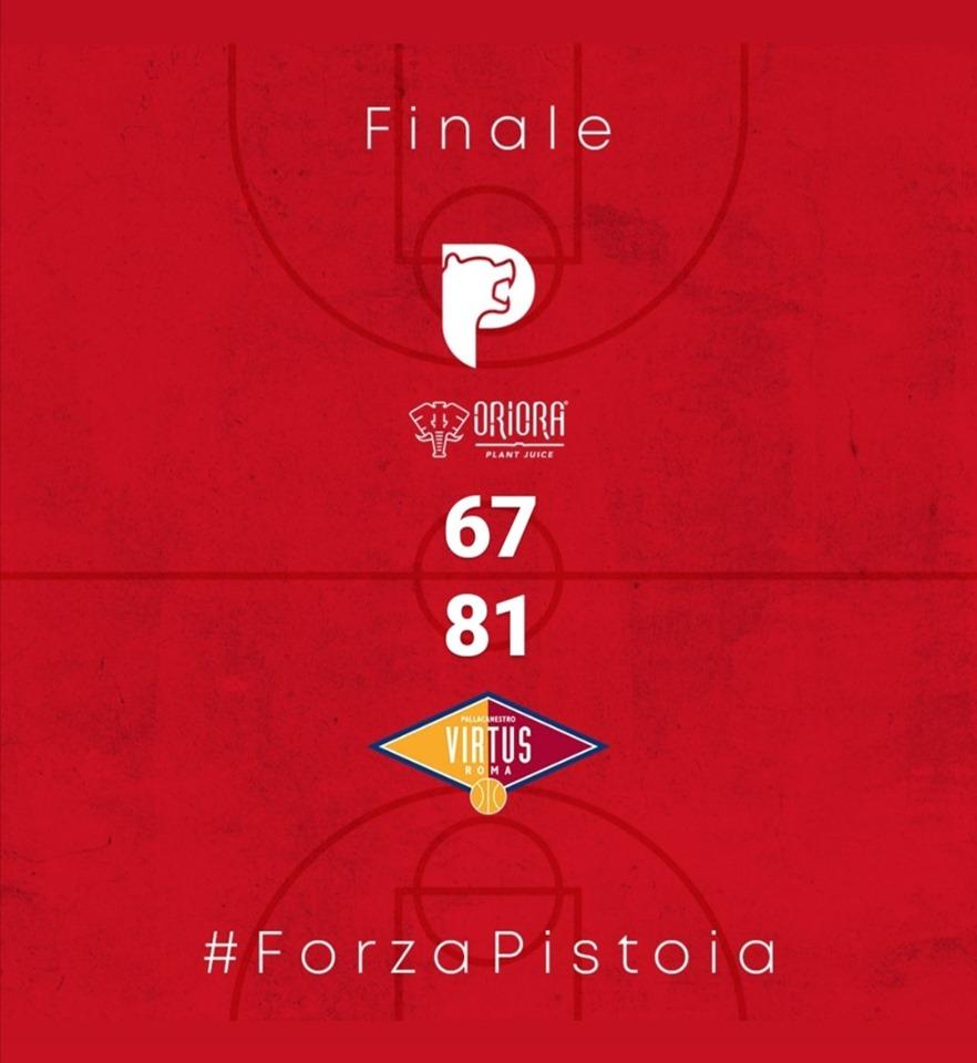 Legabasket LBA 4^giornata 2019-20: riviviamo la sfida del PalaCarrara tra OriOra Pistoia e Virtus Roma con Luca Cipriani e Fabrizio Noto