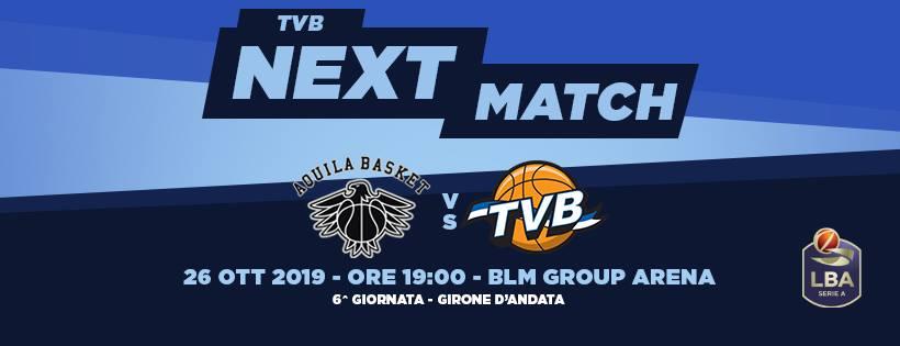 Legabasket LBA 6^giornata 2019-20: sarà il sabato casalingo a rivelare se la Dolomiti Energia Trentino è pronta a risalire la china vs Treviso