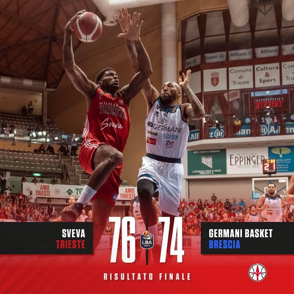 Legabasket LBA 5^giornata 2019-20: la