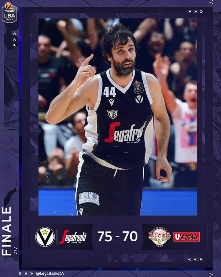 Legabasket LBA 3^giornata 2019-20: al debutto Milos Teodosic da spettacolo e la Virtus Bologna doma la Reyer Venezia 75-70