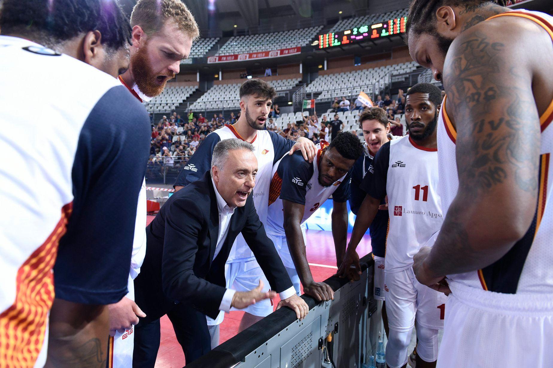 Legabasket LBA 4^giornata 2019-20: l'anticipo del sabato sera è la sfida del PalaCarrara tra l'OriOra Pistoia e la Virtus Roma