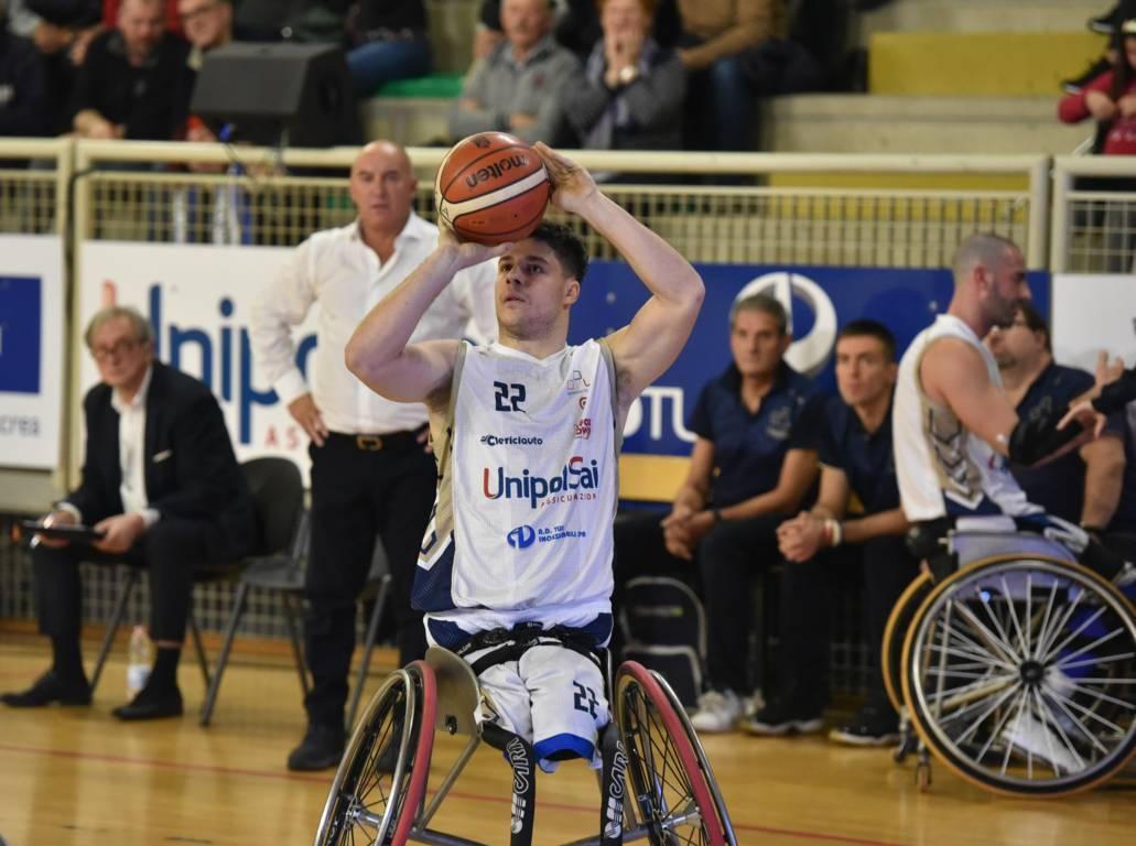 Basket in carrozzina #SerieAFipic 2019-20: l'azzurro Filippo Carossino dell'UnipolSai Briantea84 parla dopo la 1^giornata