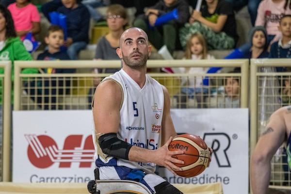 Basket in carrozzina #SerieAFipic Mercato 2020-21: rinnovo fino al 2022 per Jacopo Geninazzi alla UnipolSai Briantea84 Cantù