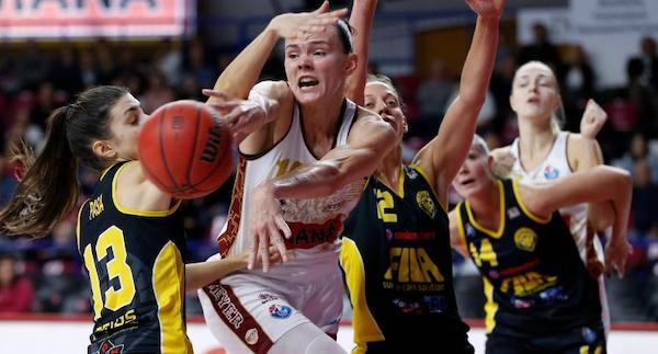 Lega Basket Femminile 5^giornata 2019-20: sono rimaste la Passalacqua Ragusa e l'Umana Venezia in testa al gruppo