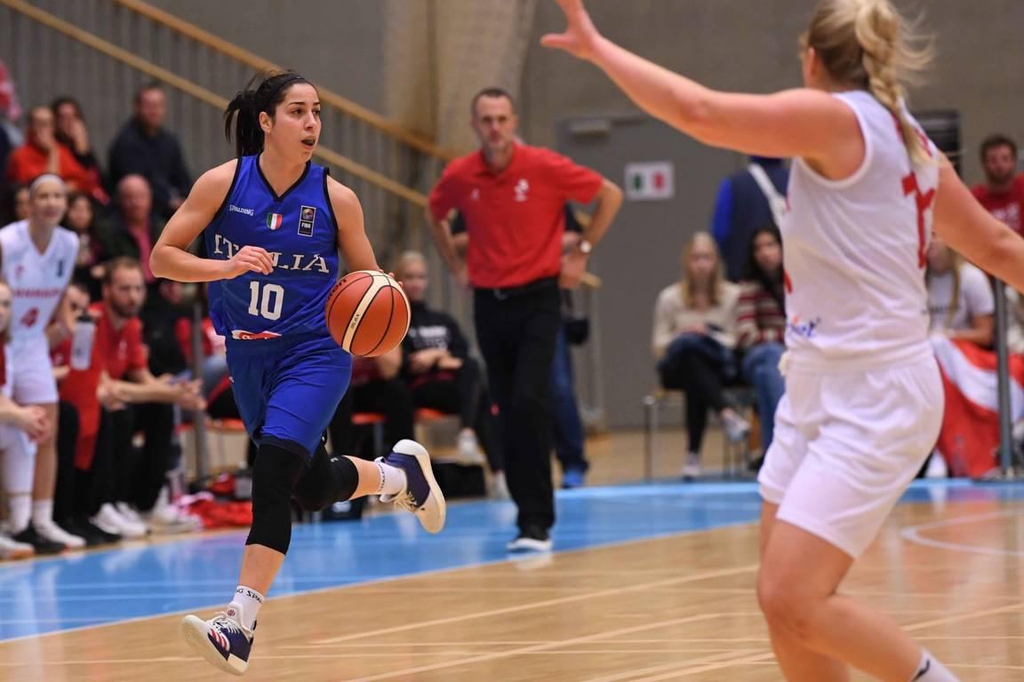 FIBA EuroBasket Women's Qualifications 2021: riscatto Italbasket Rosa in Danimarca con vittoria per 72-82