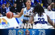 Legabasket LBA 8^giornata 2019-20: la Vanoli Cremona si scuote e supera la Pompea Fortitudo Bologna 80-73