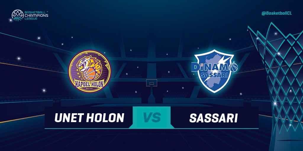Basketball Champions League #Game6 2019-20: la Dinamo Sassari in trasferta in Israele per consolidare il secondo posto nel girone