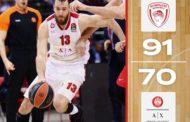 Turkish Airlines Euroleague #Round11 2019-20: l'Olimpia Milano rimedia una brutta scoppola al Pireo, un Olympiacos solido evidenzia le lacune milanesi