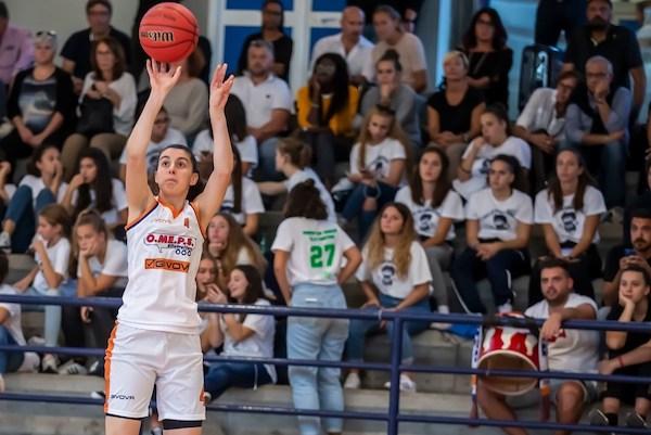 Lega Basket A1 Femminile 12^andata 2019-20: la O.ME.P.S. Battipaglia ha vinto la sua prima partita, a Costa Masnaga