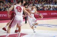 Legabasket LBA 14^andata 2019-20: vincenti su due spagnole, Armani Exchange Milano e Dolomiti Energia Trentino si sfidano