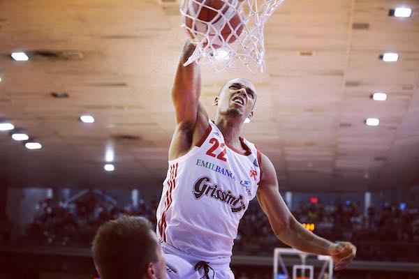 LBA Legabasket 3^ritorno 2019-20: fisicità, atletismo, e spettacolo in Grissin Bon Reggio Emilia-Acqua S.Bernardo/Cinelandia