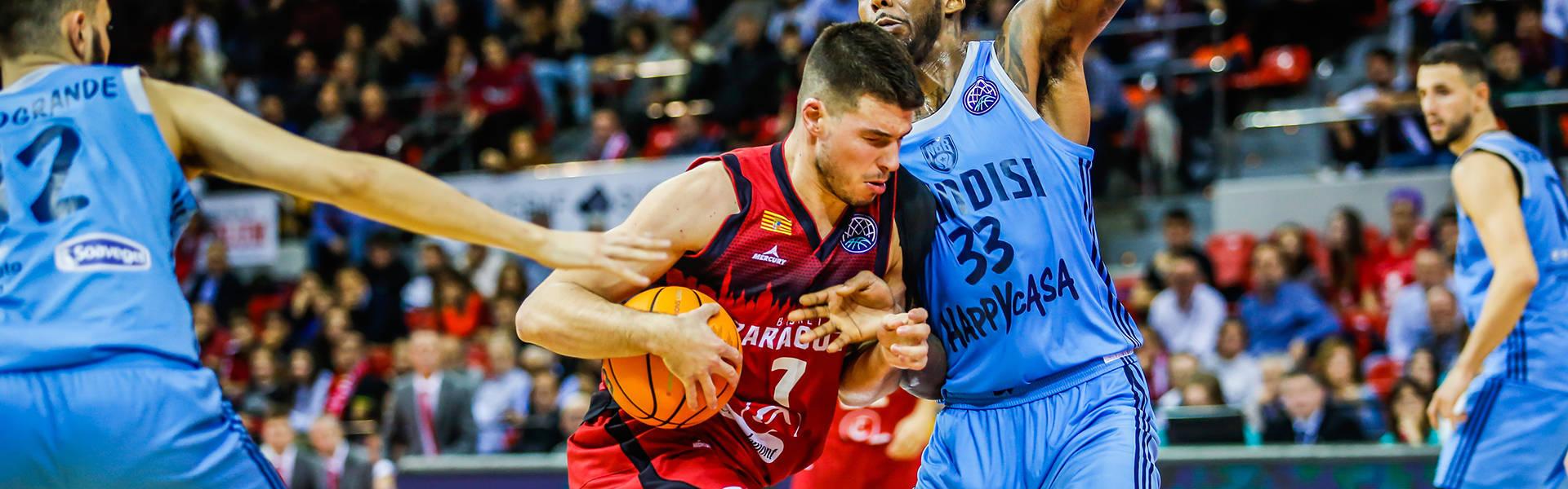 Basketball Champions League #Game7 2019-20: l'Happy Casa Brindisi spreca tanto, troppo ed alla fine cede al Saragozza dopo 2 OT