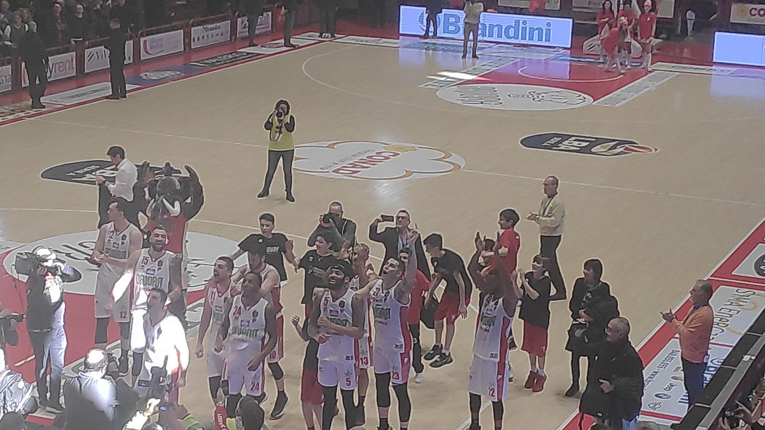 Legabasket LBA 14^andata 2019-20: OriOra Pistoia si aggiudica lo scontro salvezza vs Carpegna Prosciutto Pesaro