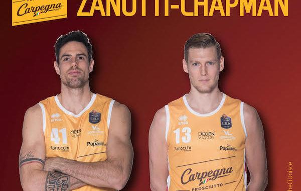 Interviste 2019: ecco la coppia Simone Zanotti/Clint Chapman della Carpegna Prosciutto Pesaro