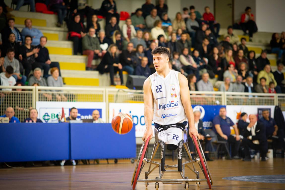 Basket in carrozzina #SerieA Fipic 4^andata 2019-20: l'UnipolSai Briantea84 supera nettamente il Santa Lucia nel classico