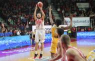 Legabasket 13^andata 2019-20: la Openjobmetis Varese supera la Carpegna Prosciutto Pesaro con un grande Ferrero