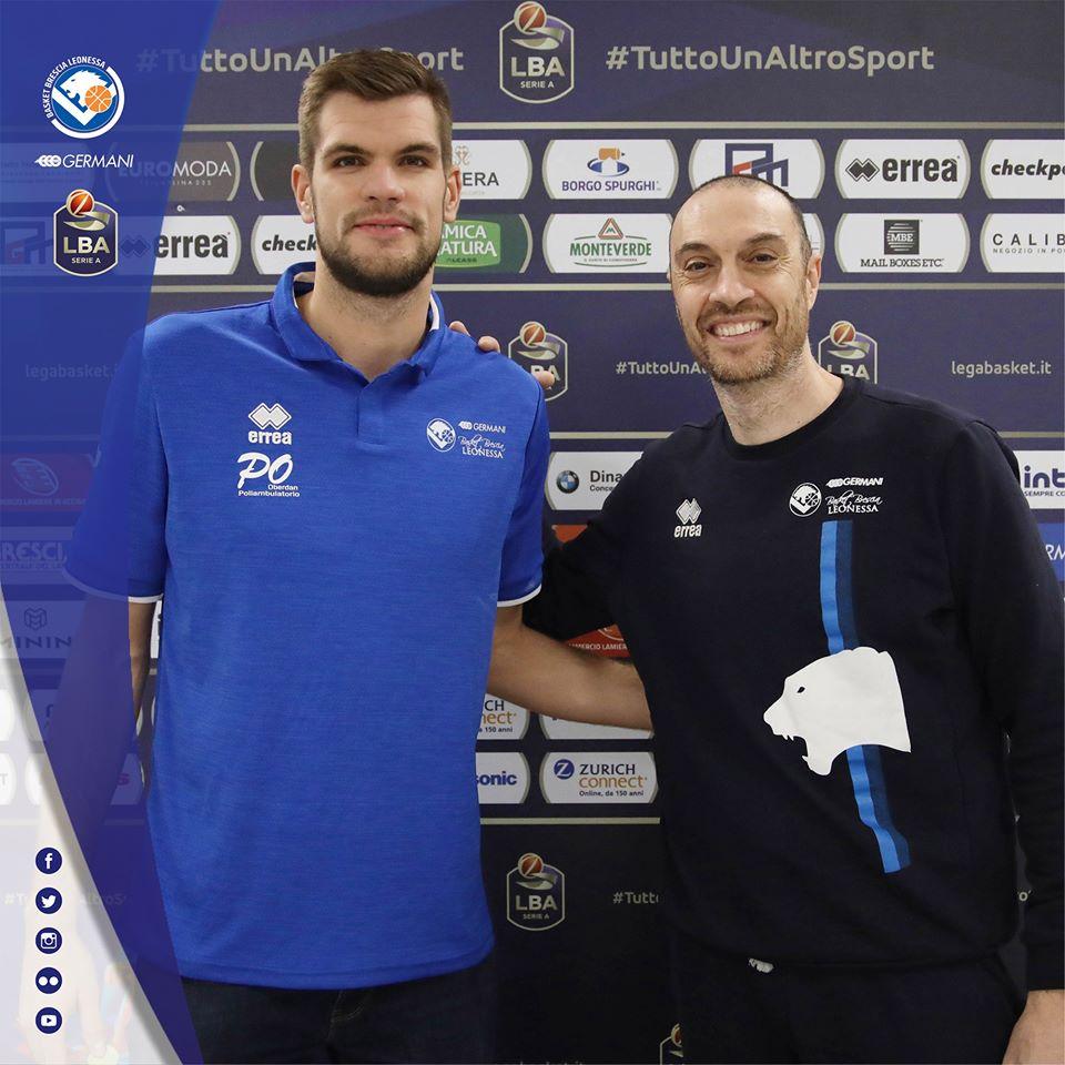Legabasket LBA 12^andata 2019-20: la domenica 8 dicembre alle 12:00 Brescia prepara l'assalto alle Top 16 in Europa ricevendo Pistoia