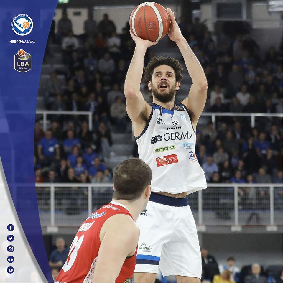 Legabasket LBA 12^andata 2019-20: nel #LunchMatch domenicale agevole vittoria di Brescia vs Pistoia per 86-74