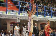 LBA Legabasket 15^andata 2019-20: l'Happy Casa Brindisi spezza la serie nere travolgendo Reggio Emilia per 87-52