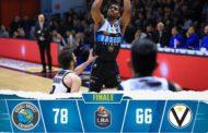 Legabasket LBA 12^andata 2019-20: la Vanoli Cremona fa l'impresa primo stop in LBA alla Virtus Bologna sino a ieri imbattuta