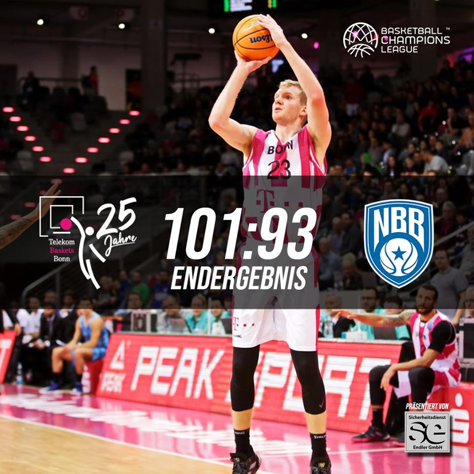 Basketball Champions League #Game9 2019-20: l'Happy Casa Brindisi è troppo molle in difesa e la Telekom Baskets Bonn la punisce