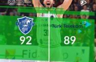 Basketball Champions League #Game9 2019-20: la Dinamo Sassari fa gran fatica ma prevale poi sul Turk Telekom Ankara per 92-89