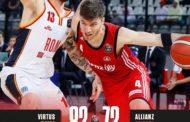 Legabasket LBA 12^andata 2019-20: la Virtus Roma rialza la testa e batte Trieste nettamente