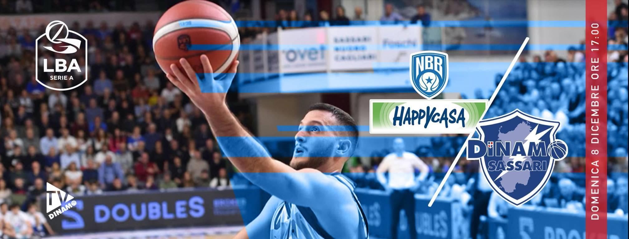 Legabasket LBA 12^andata 2019-20: Brindisi e Sassari ferite in Europa s'incontrano in Puglia per giocarsi il 2° posto in classifica