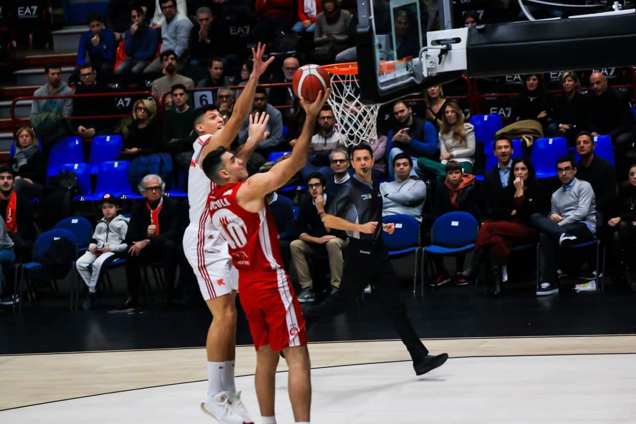 Legabasket LBA 11°giornata 2019-20: l`Olimpia Milano si accende nel terzo quarto e supera una buona Reggio Emilia