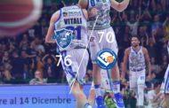 Legabasket LBA 11^andata 2019-20: la Dinamo Sassari regola anche la Germani Basket Brescia