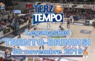 Legabasket LBA 11^andata 2019-20: rivediamo in Terzo Tempo le cose più belle del match tra Trento e Brindisi