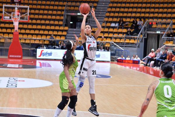 Lega Basket A1 Femminile 4^ritorno 2019-20: tutto al sabato, in alto Geas-Ragusa, in basso Costa Masnaga-Torino