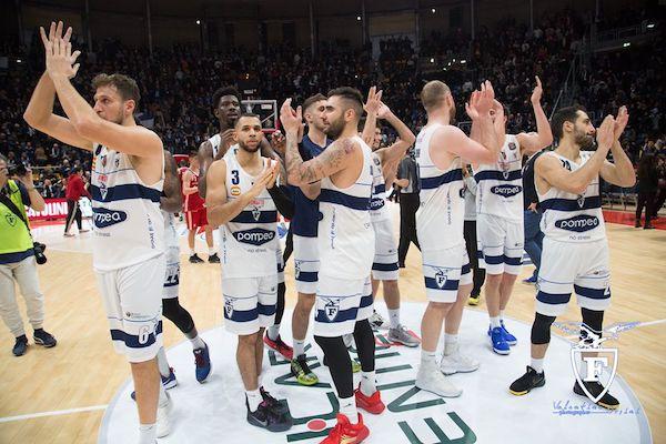LBA Legabasket 1^ritorno 2019-20: Pompea Fortitudo Bologna riceve la Carpegna Prosciutto Pesaro