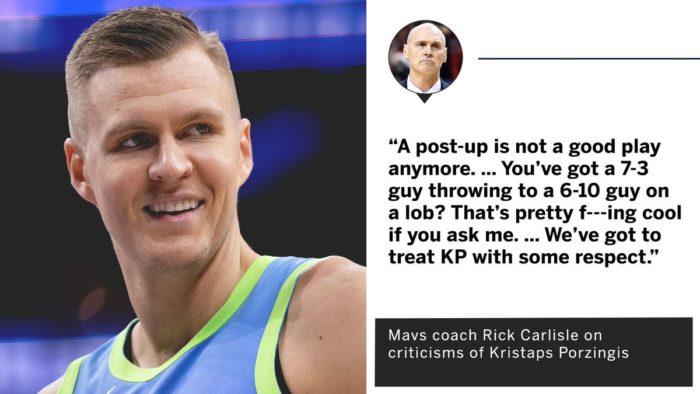 NBA 2019-20: coach Carlisle certifica la morte del gioco in post, siamo pronti per il funerale?
