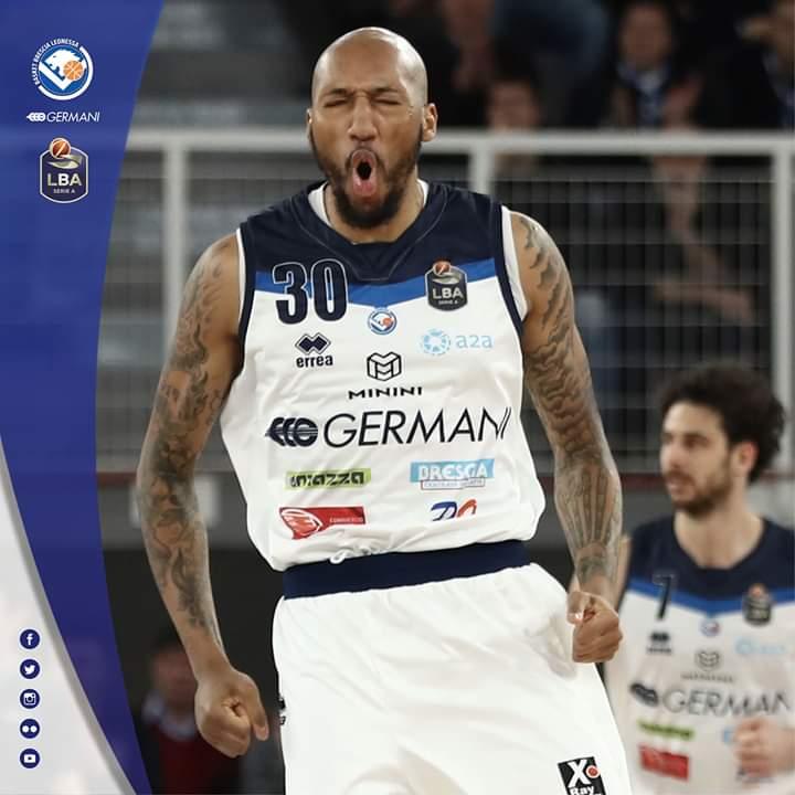 LBA Legabasket 2^ritorno 2019-20: la Germani Basket Brescia approfitta dei blackout di Milano