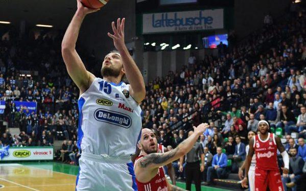 LBA Legabasket 2^ritorno 2019-20: la Dè Longhi Treviso chiama il suo pubblico per battere la Vanoli Cremona