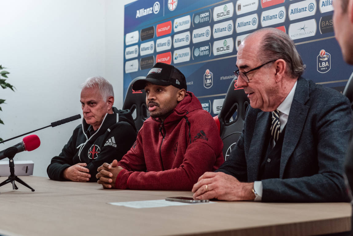 LBA Legabasket Mercato 2019-20: arriva Riccardo Cervi all'Allianz Trieste nel giorno della presentazione di Ricky Hickman