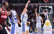 LBA Legabasket 1^ritorno 2019-20: ottava di fila per Sassari che supera Varese