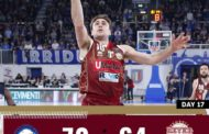 LBA Legabasket 17^giornata 2019-20: 7° sigillo consecutivo per la Germani Basket Brescia che batte la Reyer Venezia 70-64