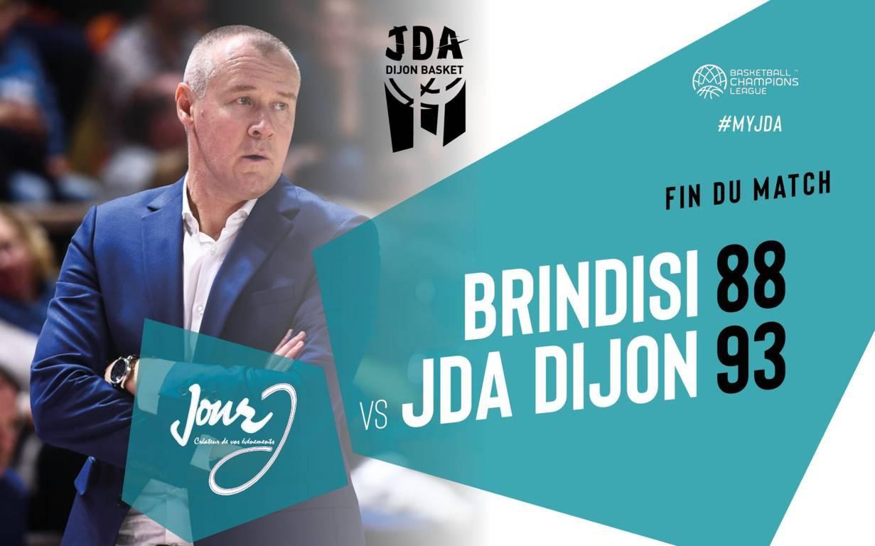Basketball Champions League #Game10 2019-20: l'Happy Casa Brindisi perde l'imbattibilità interna vs il Dijon