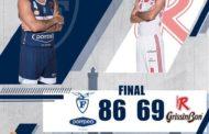 LBA Legabasket 17^andata 2019-20: la Pompea Fortitudo Bologna batte la Grissin Bon Reggio Emilia e si regala le F8 di Coppa Italia
