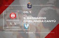 LBA Legabasket 17^giornata 2019-20: sarà un derby senza storia il 168° in LBA tra l'A|X Olimpia Milano e la S.Bernardo-Cineland Cantù?